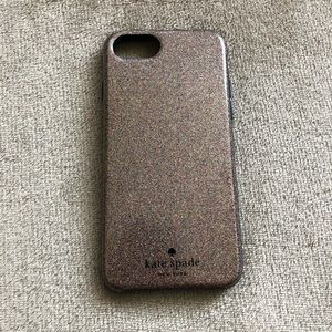 KATE SPADE SPARKLY IPHONE 7 CASE